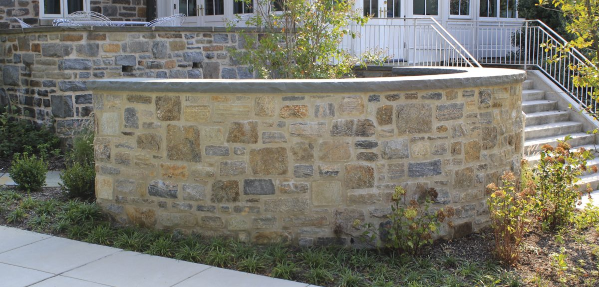 Custom Exterior Wall Columbaria - School