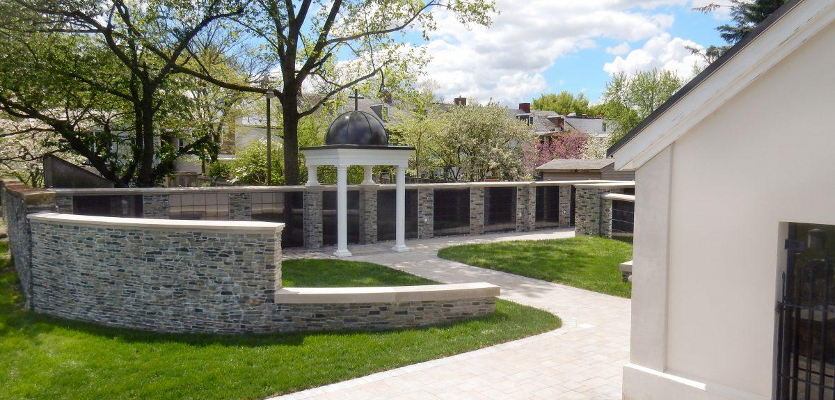 Custom Exterior Wall Columbaria - Cemetery