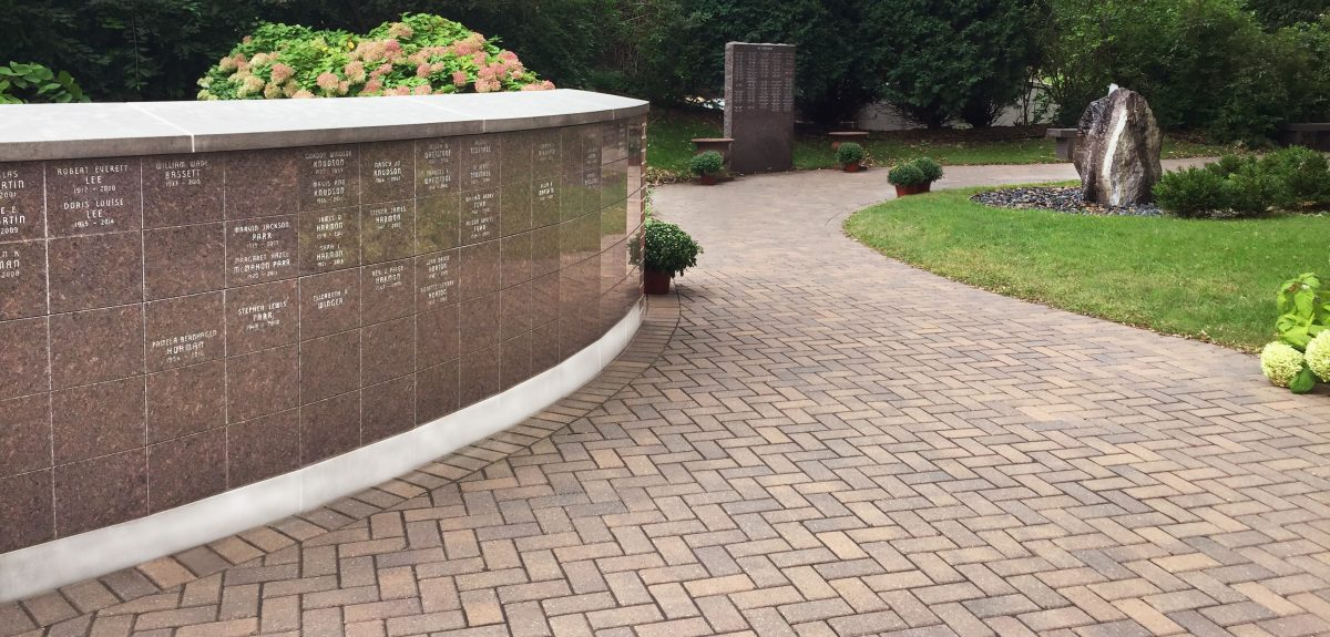 Custom Exterior Wall Columbaria - Church