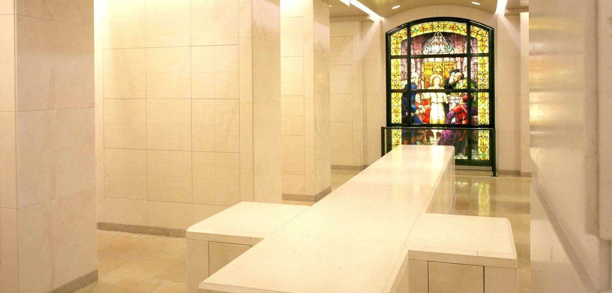 Los Angeles, CA - Interior Church Custom Wall Columbaria
