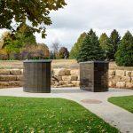Roselawn Cemetery - Split Rock Garden
