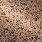 Sunset Red Granite swatch