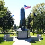 Veterans Memorial at Roselawn Cemetery