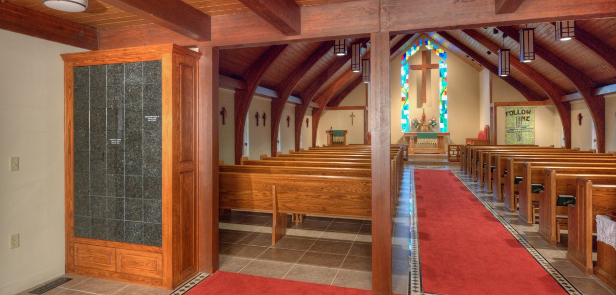 Blue Springs, MO Interior Custom Wall Church