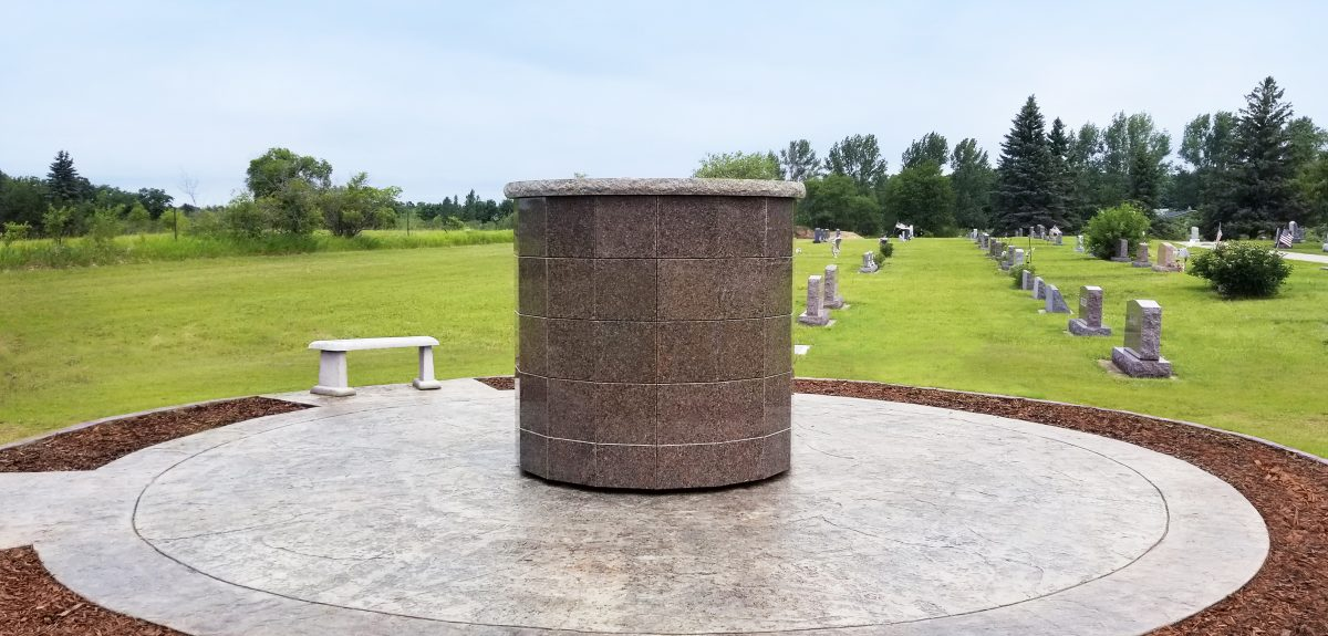 Exterior Pre-Assembled Winchester Columbaria - Cemetery