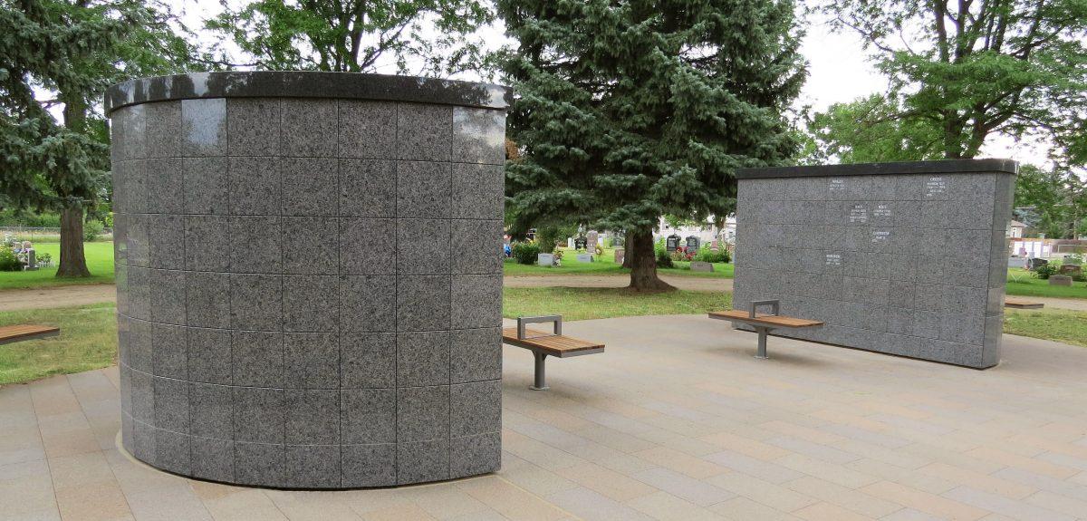 Exterior Pre-Assembled Eclipse Columbarium - Cemetery
