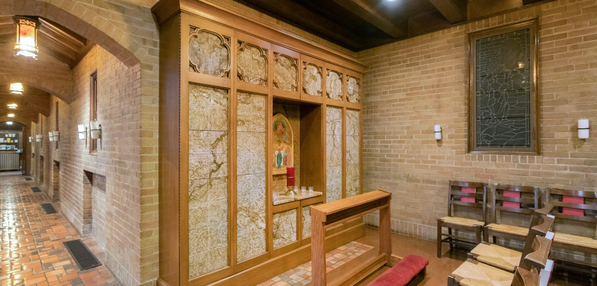 Custom Interior Wall Columbarium - Church