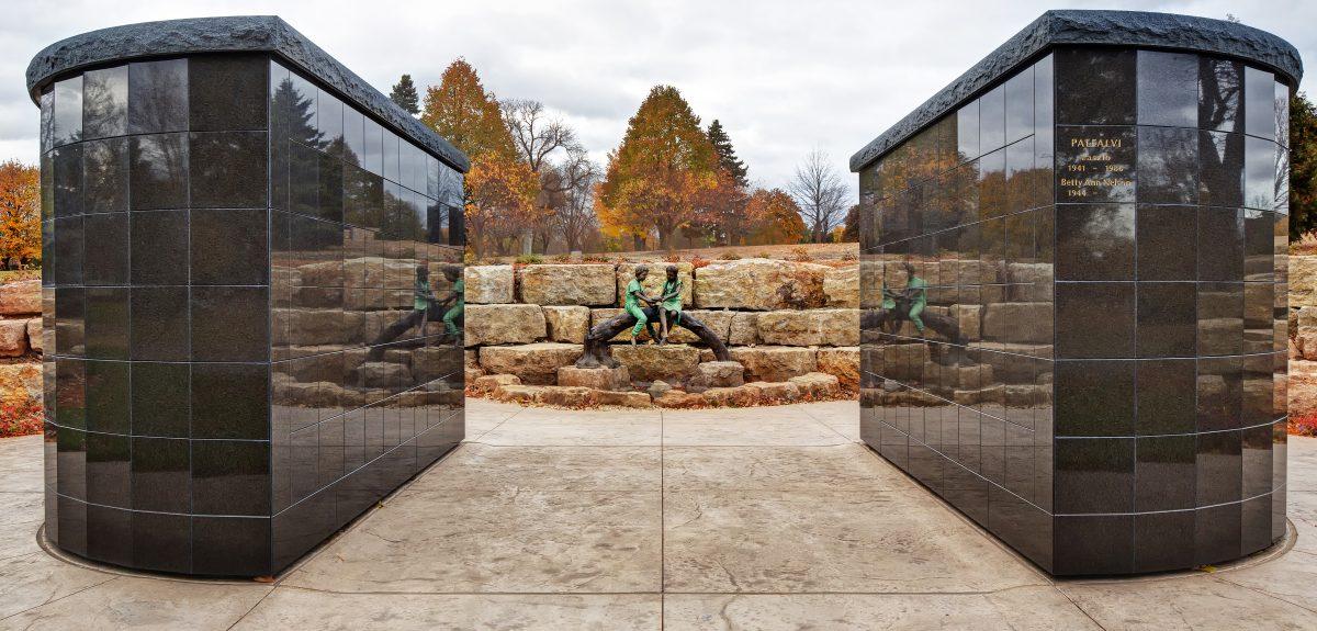 Pre-Assembled Eclipse Columbarium Exterior - Cemetery