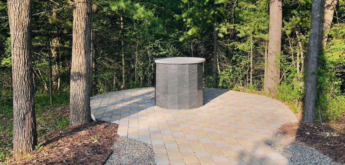 Exterior Pre-Assembled Winchester Columbaria - Funeral Home