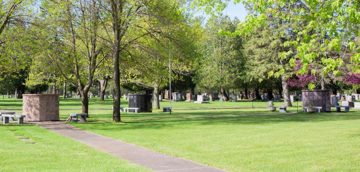Exterior Pre-Assembled Canterbury Columbarium - Cemetery